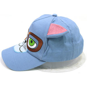 Cartoon Image Kids Baseball Hats