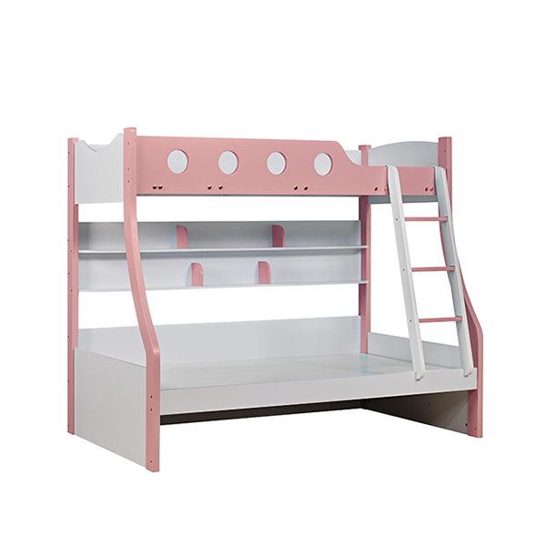 Modern Children Princess Bedroom Furniture Set Literas Rosa