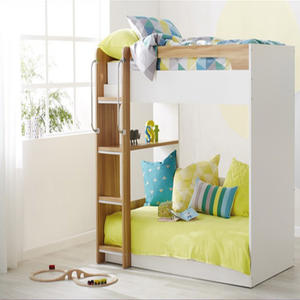 Bedroom Dormitory Solid Wood Bunk Bed Kids Bunk Bed