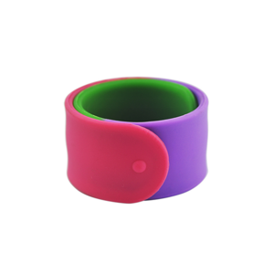low price Custom silicone slap rubber bracelet design manufacturer
