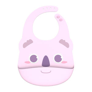 OEM Customized Foldable environmentally Friendly Silicone Baby Bibs