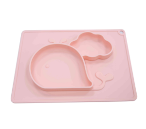 OEM Unbreakable Wholesale Silicone Baby Plates