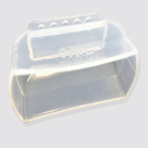 Medical grade high transparent silicone