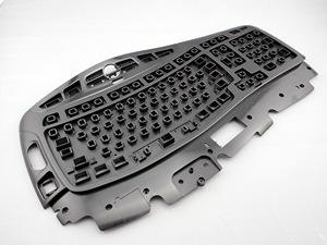 Cheap China Keyboard injection molded parts  manufacturer supplier