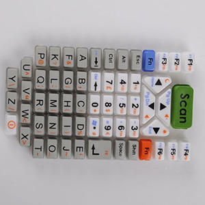 China calculator silicone rubber keyboard shell silicone rubber products