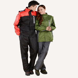 China customized waterproof jacket trousers set manufacturer