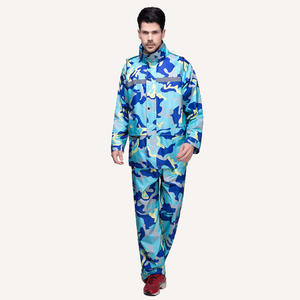 6892 Men/Women Camouflage Waterproof Windbreaker Waterproof Suit