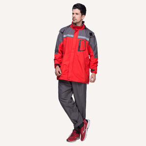 PU Multi-color Waterproof Sports Suit Waterproof Rain Jacket wholesaler