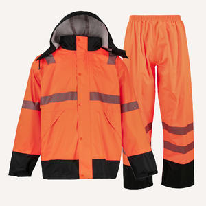 high quality China 1705 Waterproof Outdoor Suit Hooded Raincoat price sample