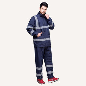 professional 7149 Safety Waterproof Suit Rain Jackets For Men wholesaler