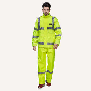 PU China 6915 Waterproof Workwear Suit Raincoat For Men  design price
