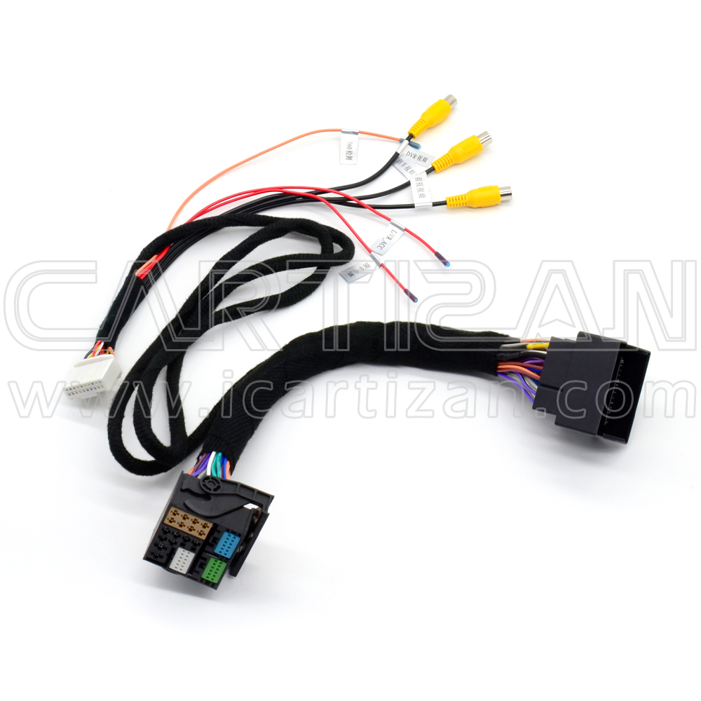 Video interface for Volkswagen / Audi / Porsche / Skoda selected vehicles with MIB 2 unit (PAS-MIB2019)