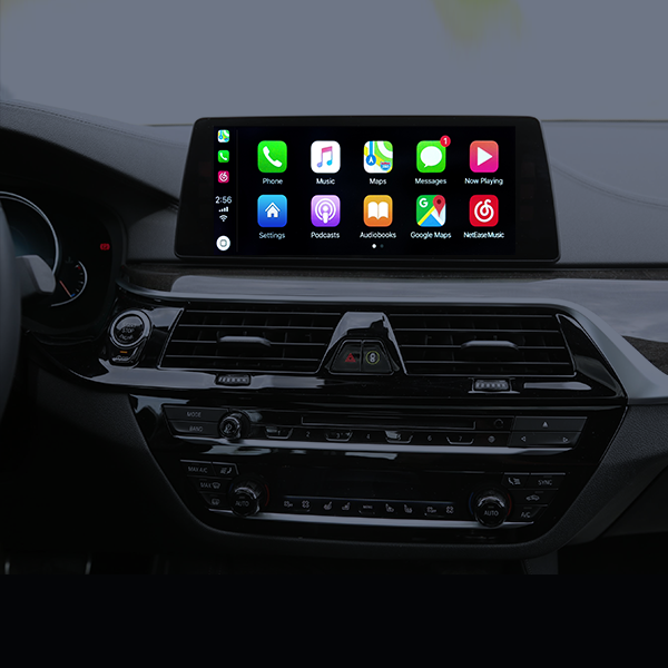 CarPlay / Android Auto / Mirroring OEM integration for BMW iDrive NBT-EVO system (VI-BMW-81C)