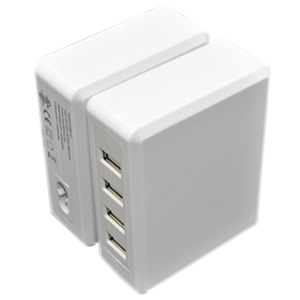 4 USB 5V 6.8A Desktop Charger on sale.