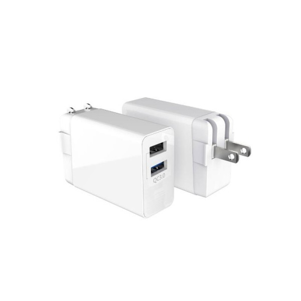 30W 2USB US-plug Quick Charger