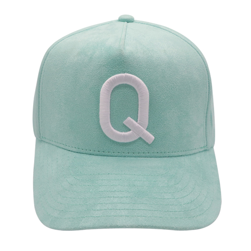 Suede 5 Panel 3D Embroidery Custom Logo Sports Baseball Cap
