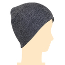 Gray Unisex Acrylic Knit Beanie Custom Winter Hats Beanie