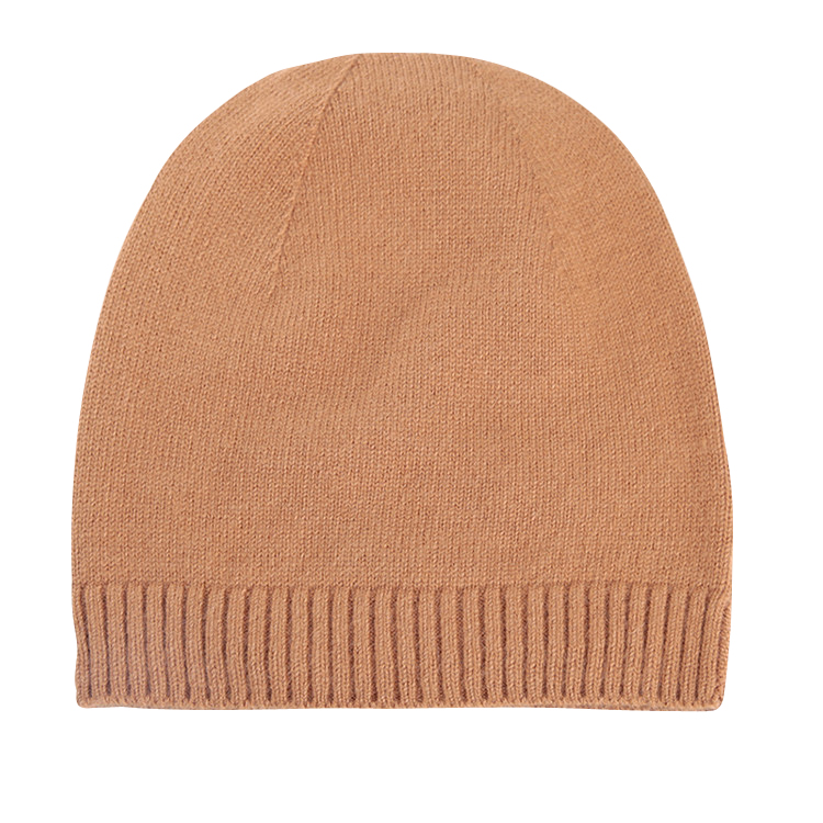 Hot Selling Elastic Acrylic Beanie Warm Hats For Wholesale