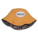 Custom Summer Colorful Print Kids Bucket Hat with Patch Logo