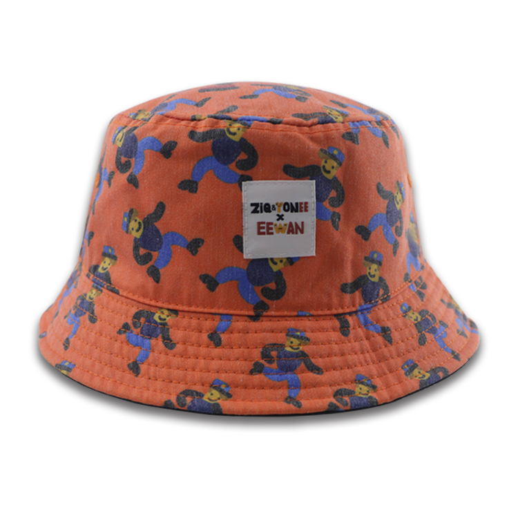 Cheap Price Bucket Straw Hat Custom Printing Design Safari Hat