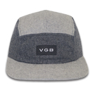 Factory Price Wool Custom Logo 5 Panel Snapback Camp Cap