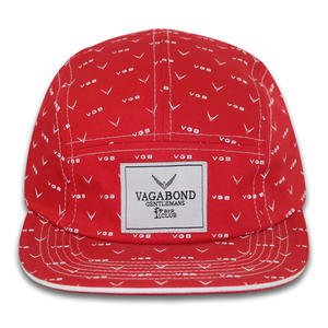 new design hot sale 5 panels snapback hats manufacturers