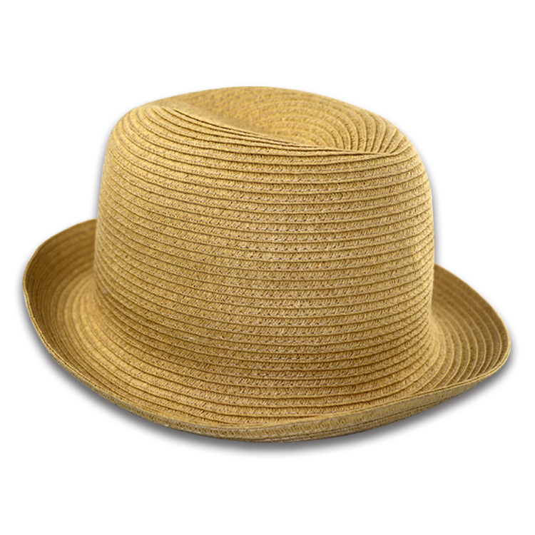 Hot Selling Short Brim Adjust Blank Summer Beach Panama Straw Hat