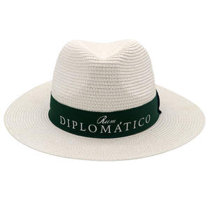 new design good quality Panama Paper Straw Hats manufacturers