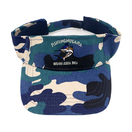 Running Outdoor Camouflage Embroidery Logo Custom Plastic Sun Visor Cap