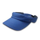 Unisex Blue Golf Hat Custom Design Sports Visor Cap