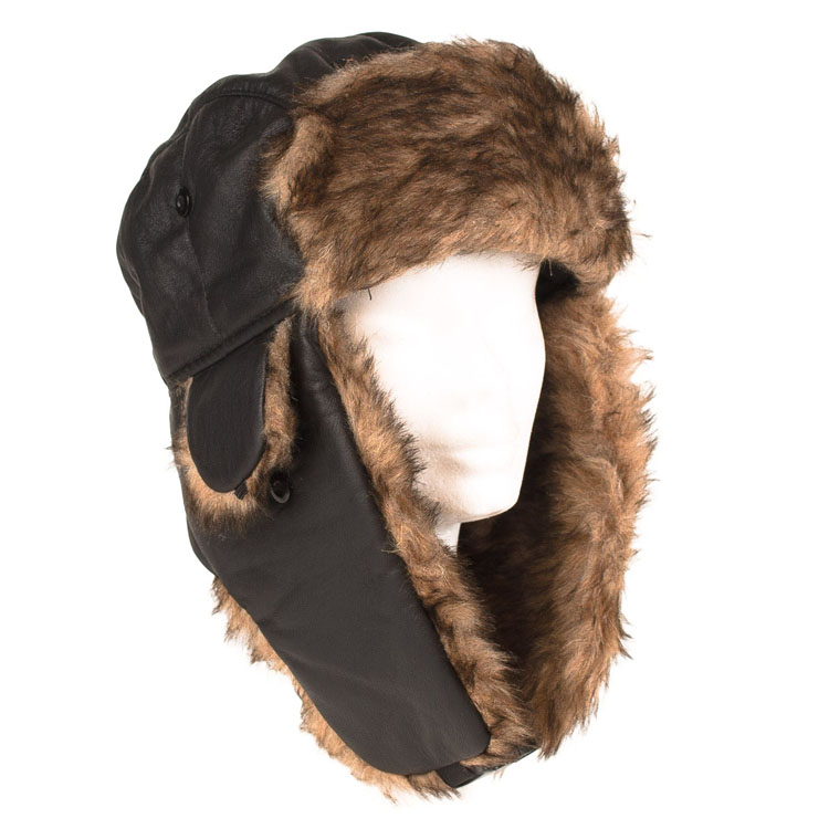Fashion Leifeng Style Earflap Pilot Windproof Winter Hats