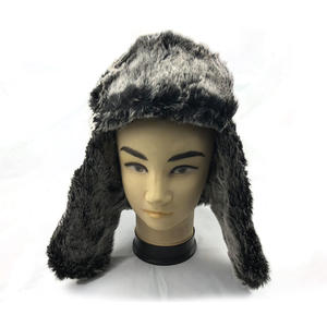 fashion custom black earflap winter hats brands exporters