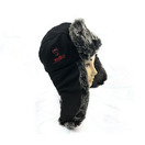 Latest Fashion Custom Black Earflap Winter Hats