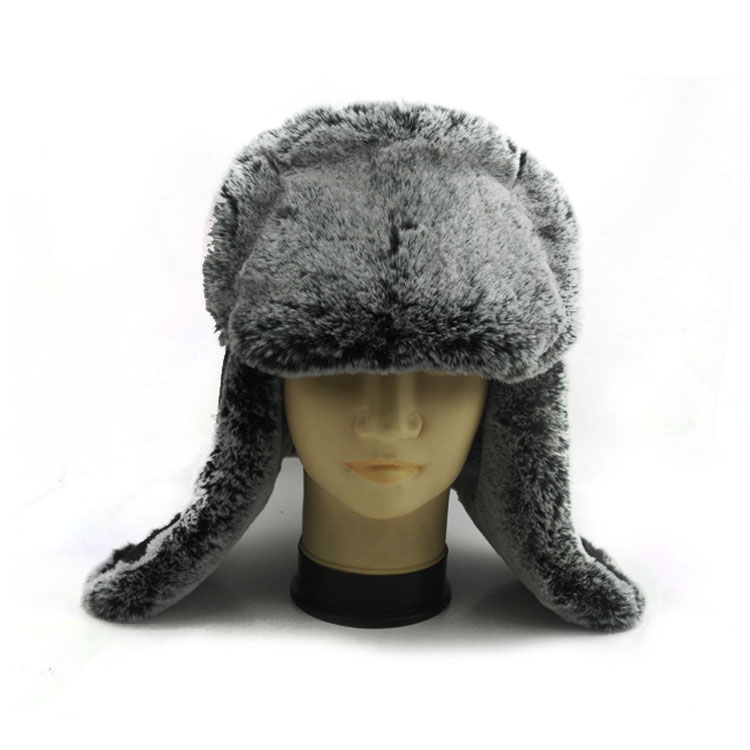 Custom Men and Women Winter Warm Russian Earflap Winter hat