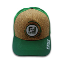 Einstellbare Stickerei Logo Cork Trucker Cap Mesh
