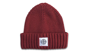 Wholesales Custom Acrylic Embroidery Patch Winter Knit Beanie Hat
