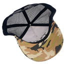 Wholesale custom snapback trucker caps 3d embroidery trucker mesh cap