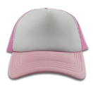 plain blank kids trucker cap children foam mesh cap