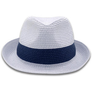 wholesale custom made unisex paper straw hat summer hat