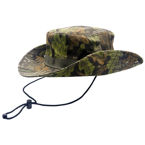 china manufacturer camouflage fishing bucket hat with string