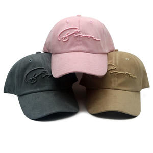 Custom dad hats Baseball Cap Wholesale High Quality Hats Made From China