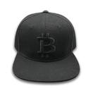 Wholesales Custom Embroidery Black hiphop Caps Snapback Hat