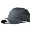 Unstructured Lightweight Breathable Baseball Cap Quick Dry Fit Sports Cap