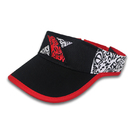 Plain Men Women Sport Sun Visor One Size Adjustable Plain Sports Visor Cap