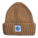 fashion cotton beanie hat knitted hat with woven label