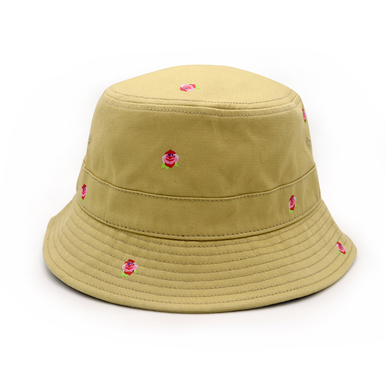 Custom Bucket hat with print logo , Fashion bucket hat full sublimation printing .