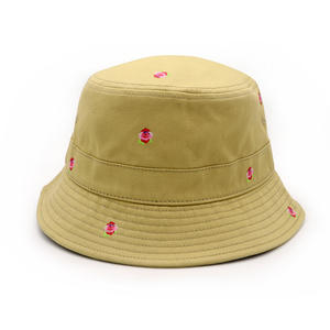 Custom Bucket hat with print logo Fashion bucket hat full sublimation printing.