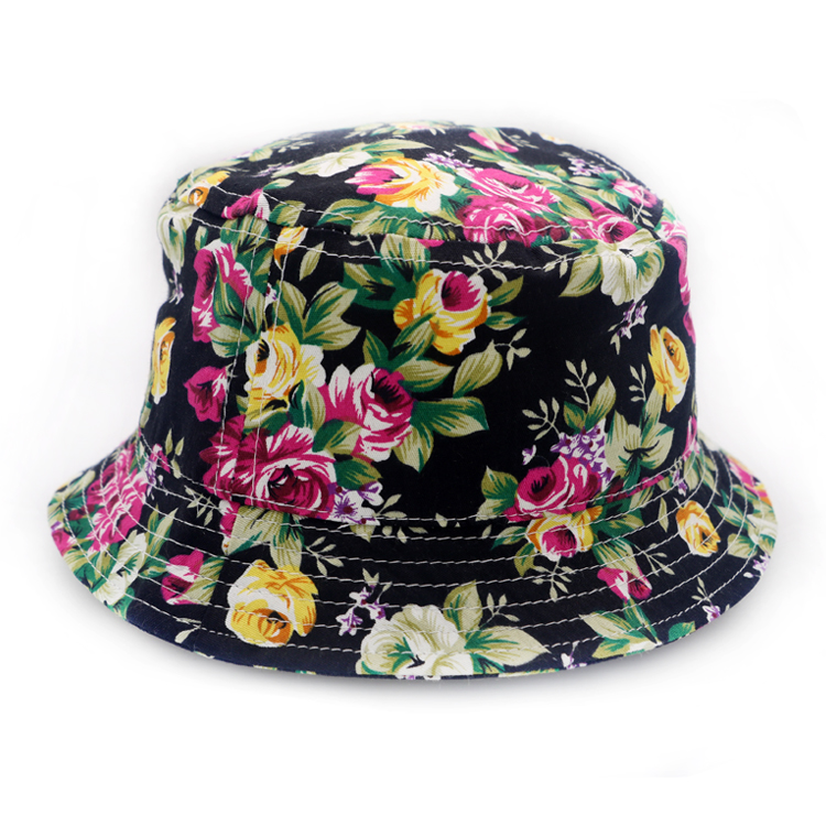 wholesale polyester sublimation bucket hat kids fishing hat outdoor