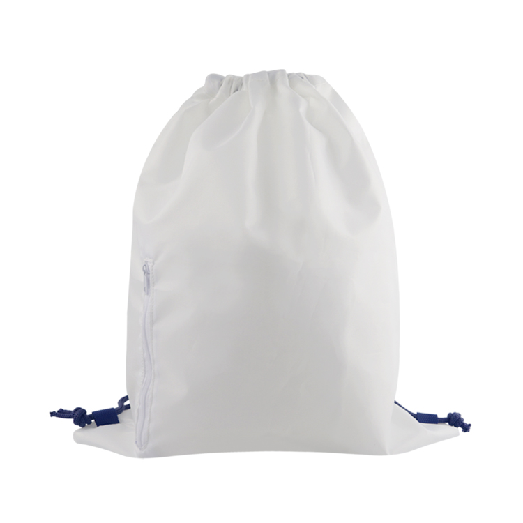 Ad Wholesale Promotion Sports Polyester Custom Drawstring Bags