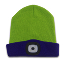 Promotion Safe Warm Lighting High Quality Customized LED Beanie USB Winter hat